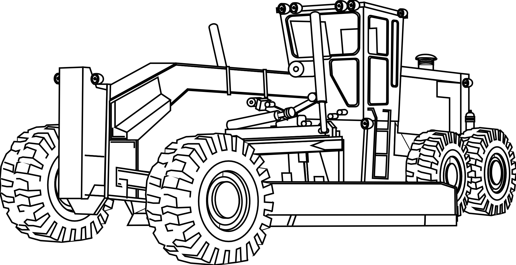 Construction Coloring Pages Best Page At