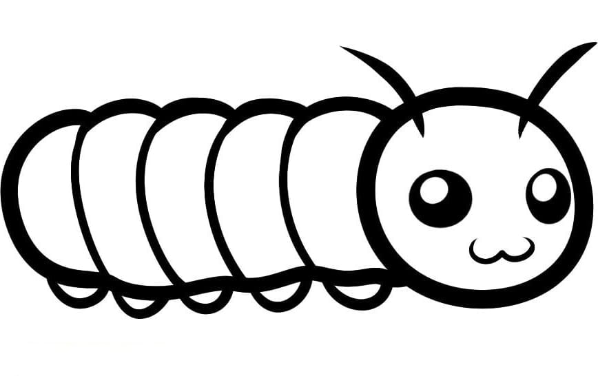 Incredible Ideas Caterpillar Coloring Pages