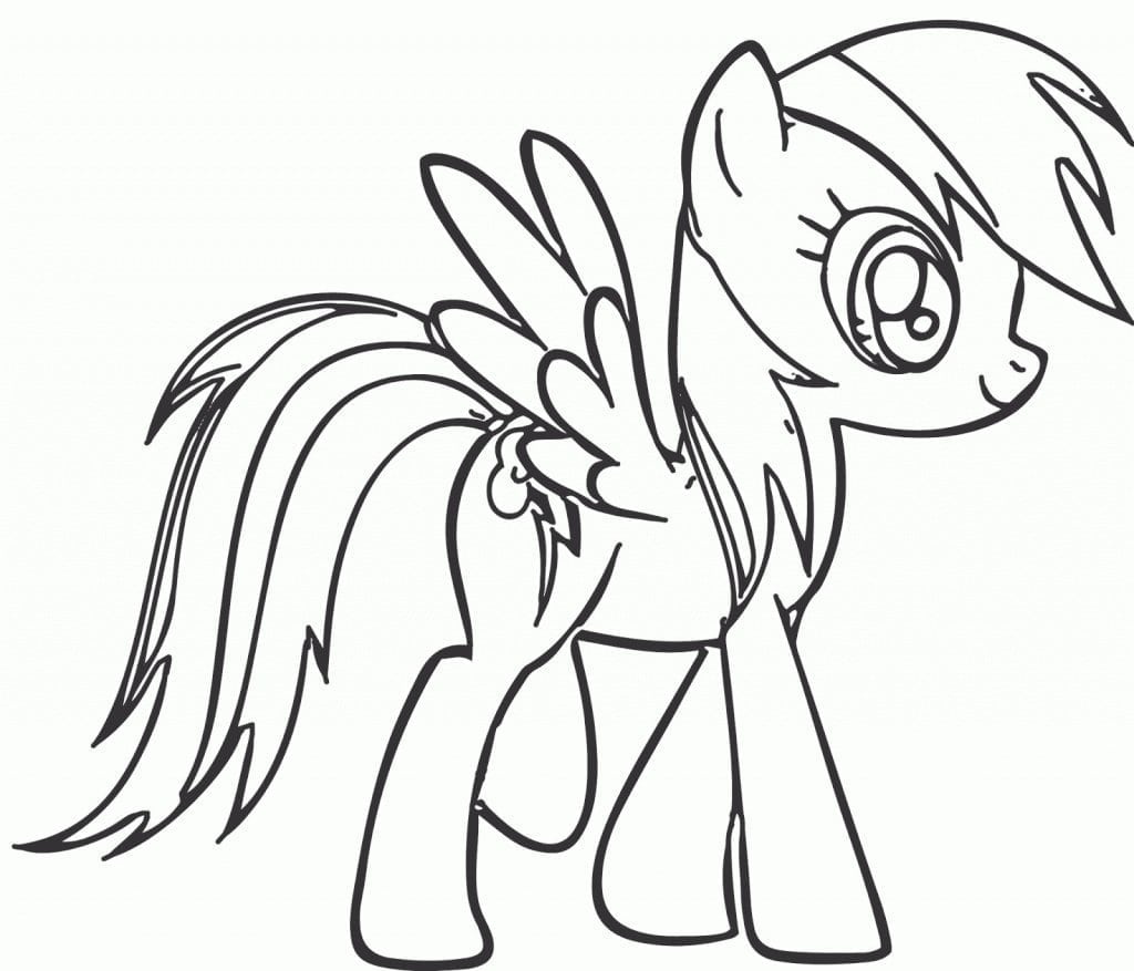 Cool Rainbow Dash Printable Coloring Pages 339272 Regarding My
