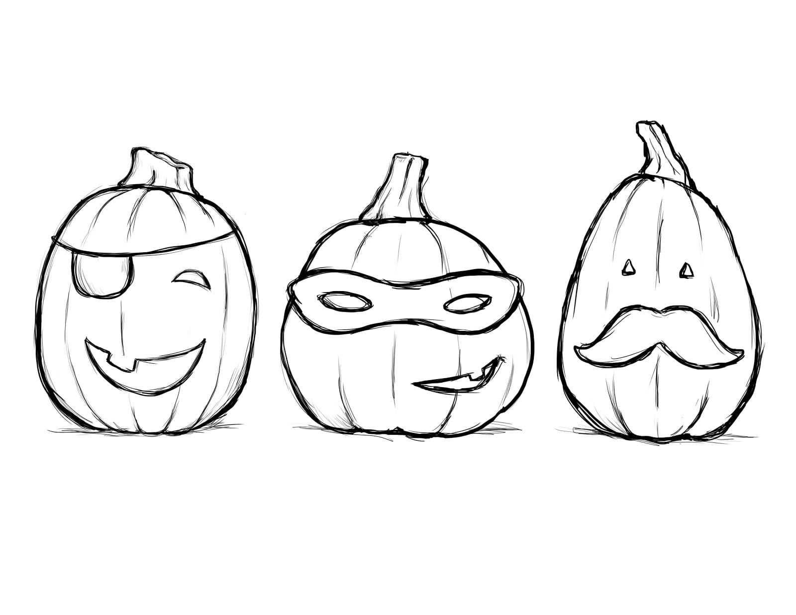 Halloween Colorings For Halloween Coloring Pages