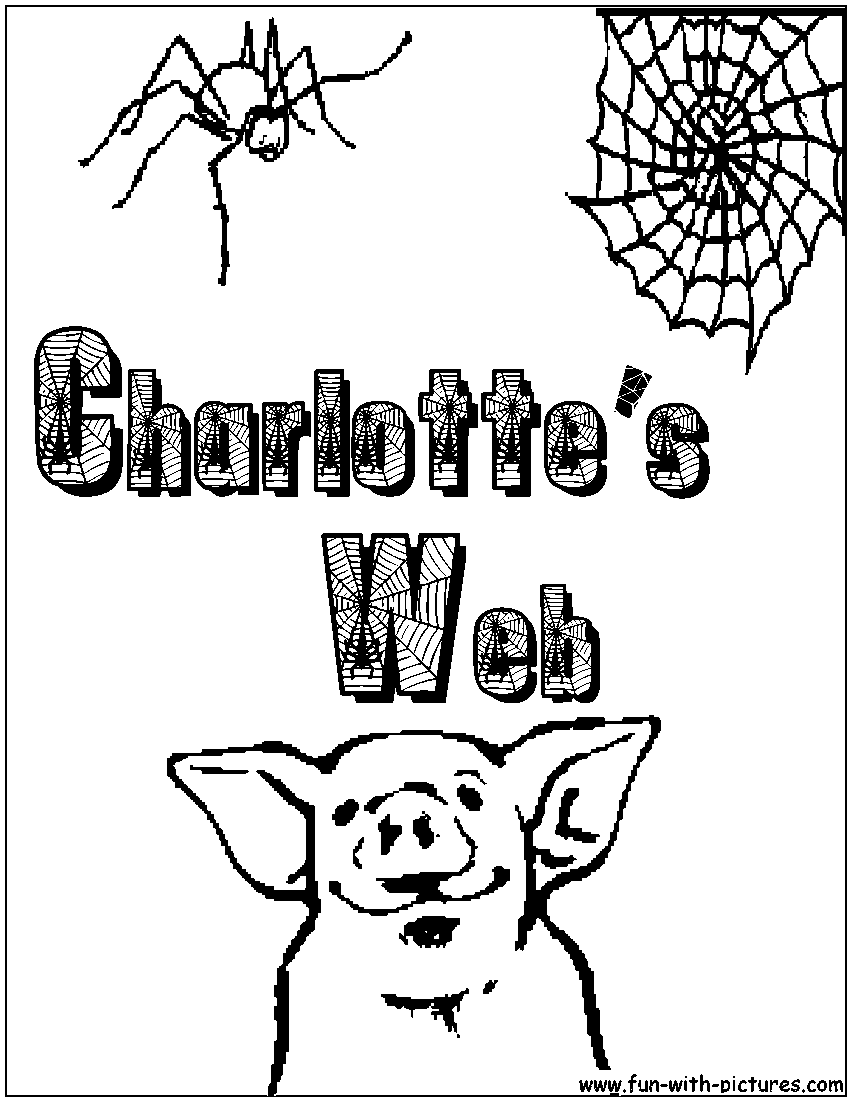 Charlotte's Web Coloring Page