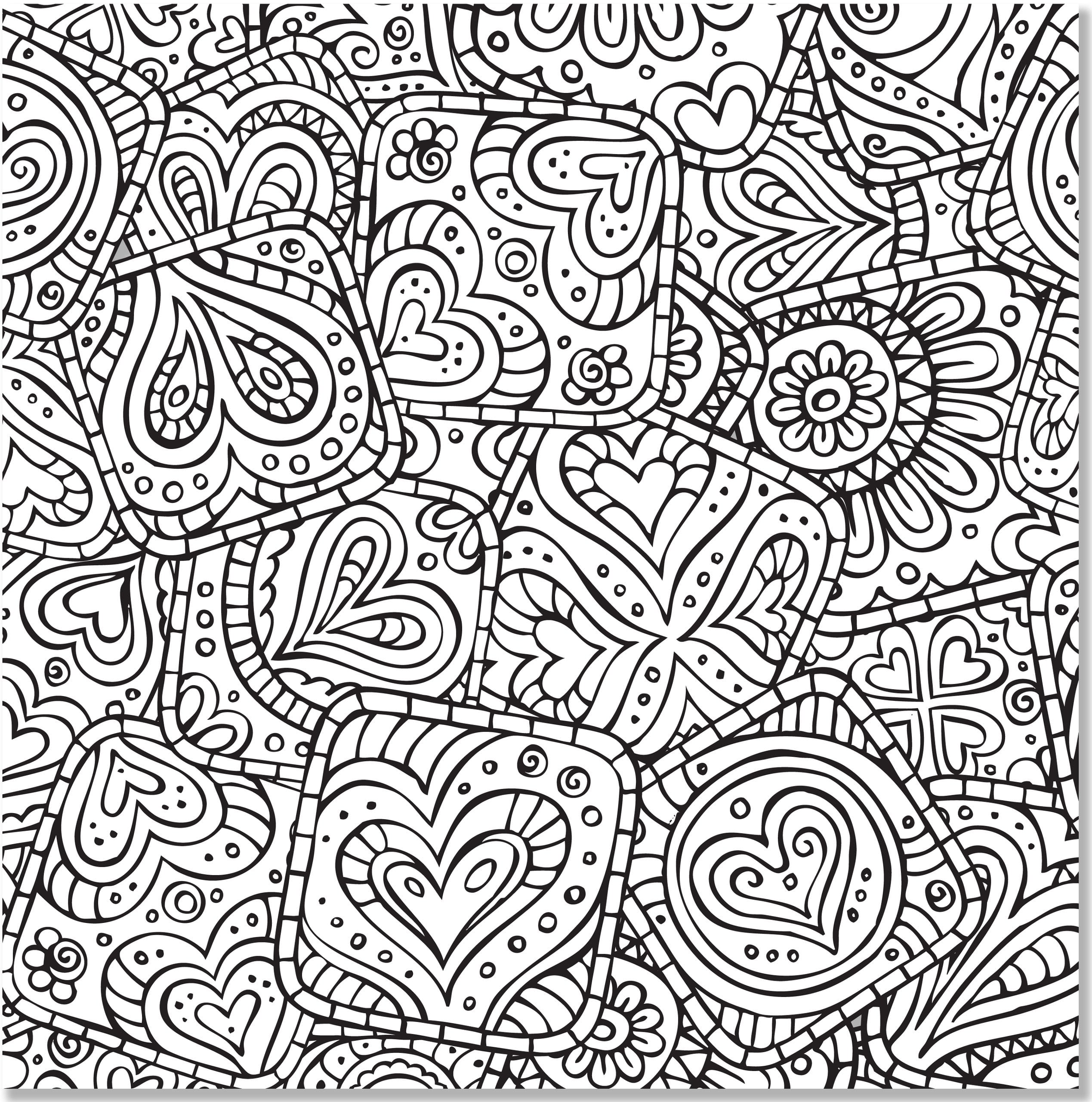 Unique Doodle Coloring Book