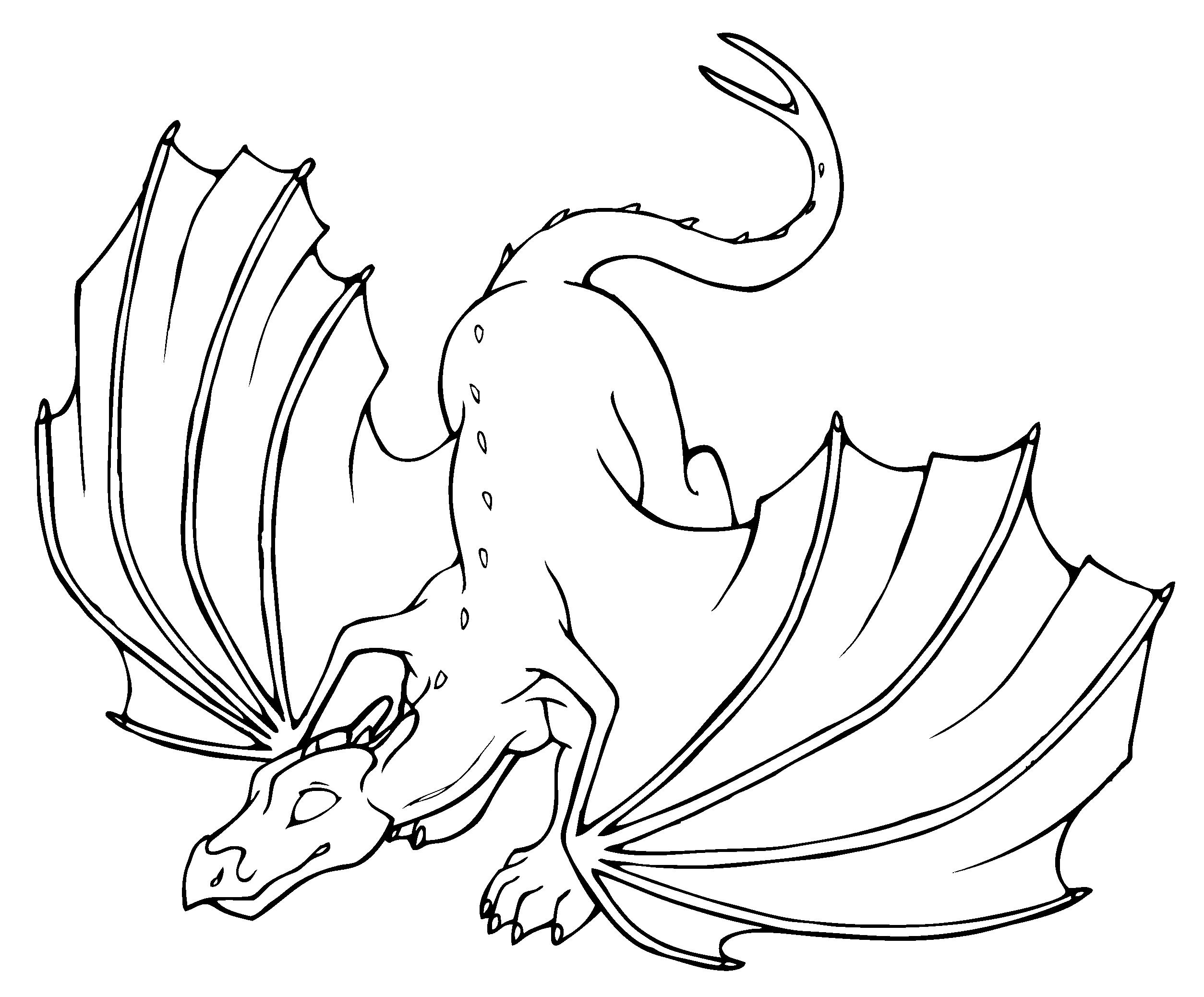 Dragon Coloring Books 4  21964