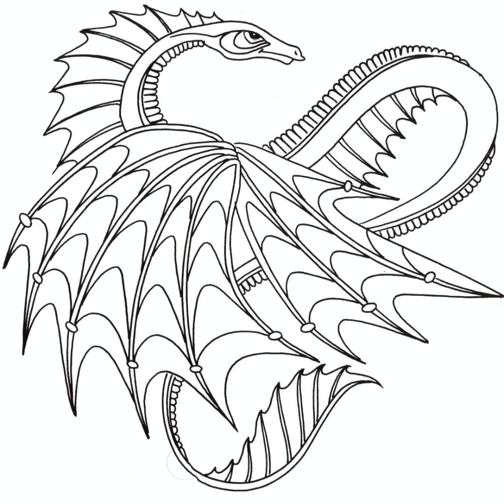 Dragons Coloring Pages 31 With Dragons Coloring Pages