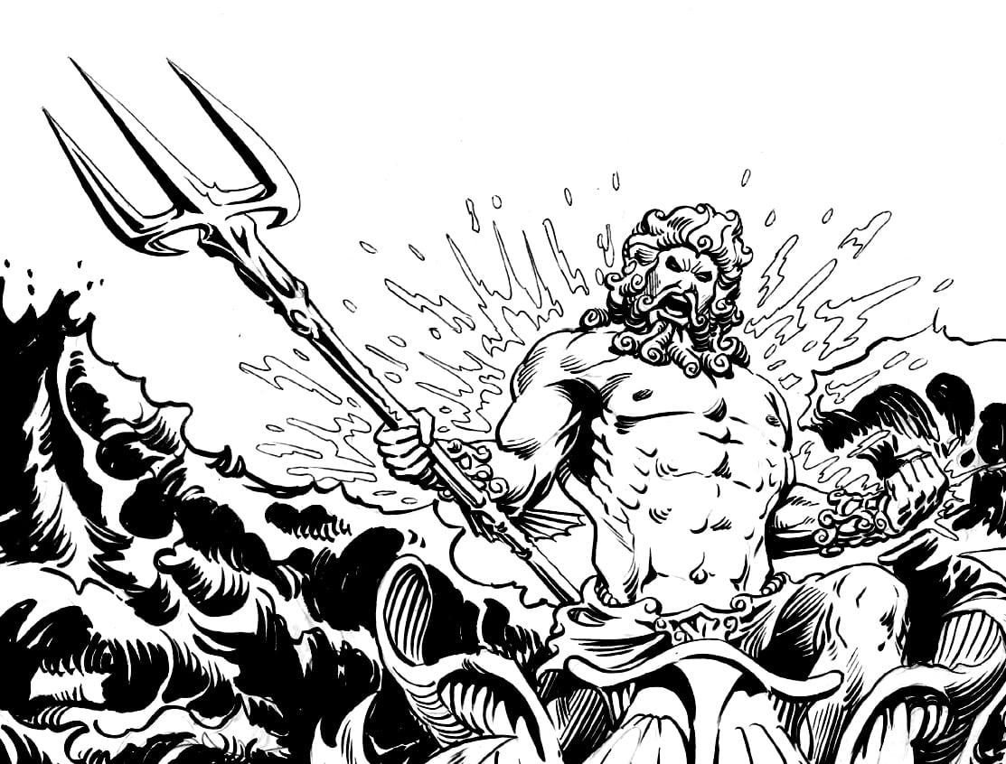 Greek Mythology  12 (gods And Goddesses) – Printable Coloring Pages