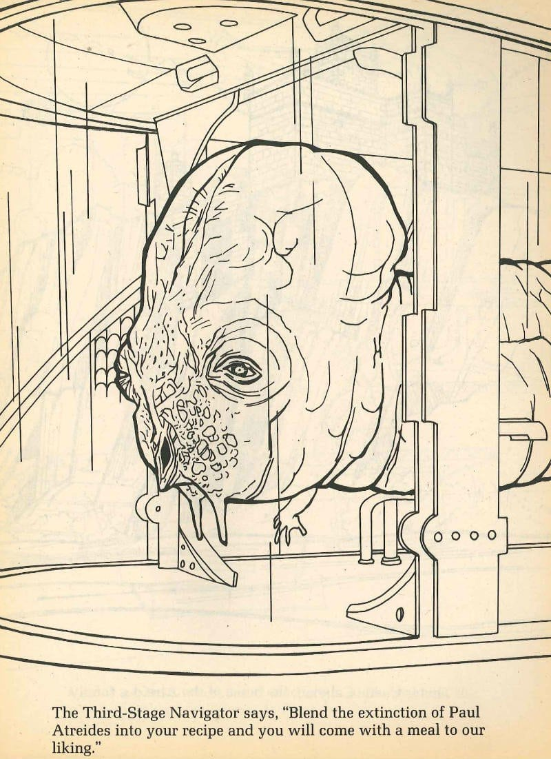 The Dune Coloring & Activity Books  When David Lynch's 1984 Film