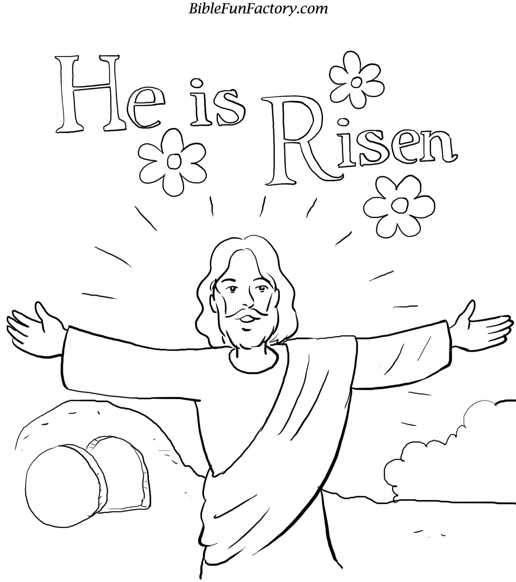 Eastercoloring To Easter Coloring Pages Christian