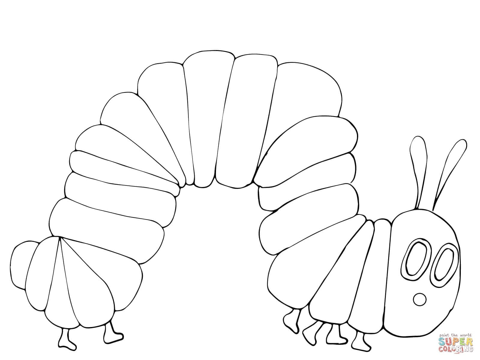 Very Hungry Caterpillar Coloring Pages Free Download  6024