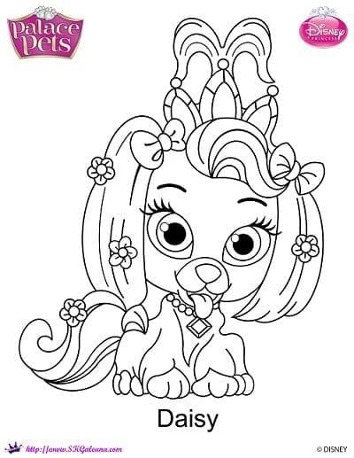Excellent Design Ideas Princess Palace Pets Coloring Pages Google
