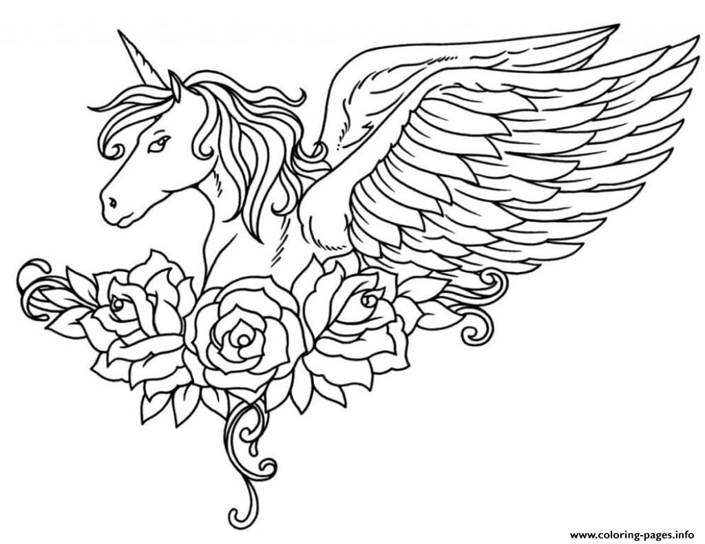 Exciting Unicorn Coloring Pages Unicorn Free Printable