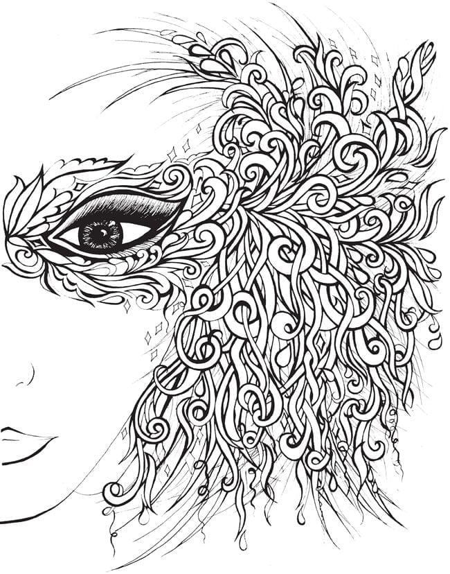 Homely Design Coloring Book Pages For Adults Great Free Pefe 2482