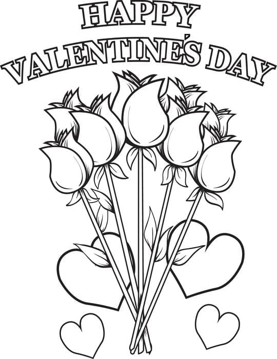 Cool Ideas Free Printable Valentines Day Coloring Pages Valentine
