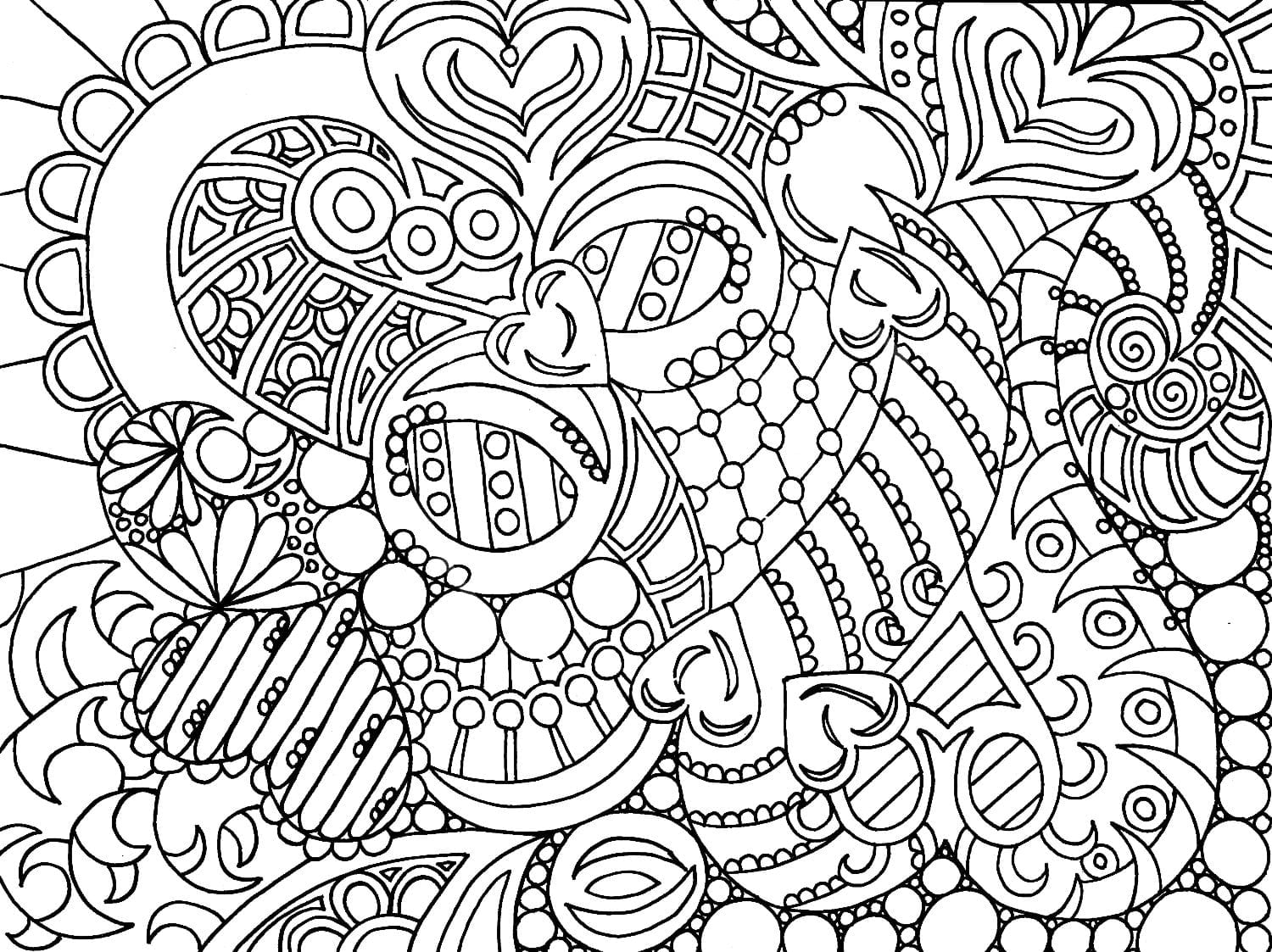 Fascinating Coloring Pages For Adults To Print Out Free Printable