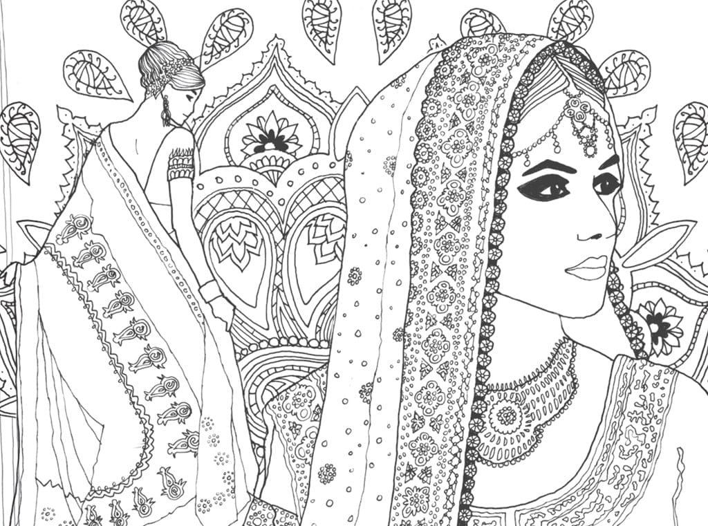 Coloring Pages And Coloring Books  Fashion Coloring Pages