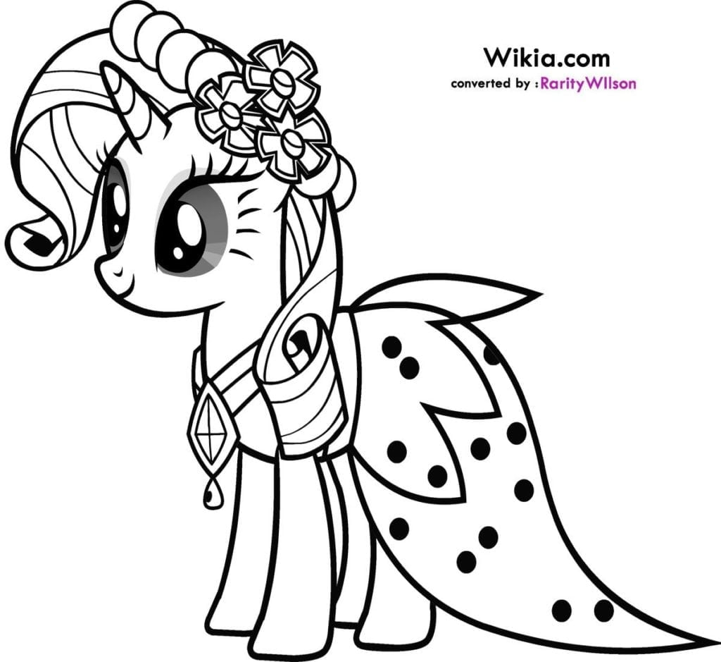 Free My Little Pony Coloring Pages Pdf Pony Coloring Sheets