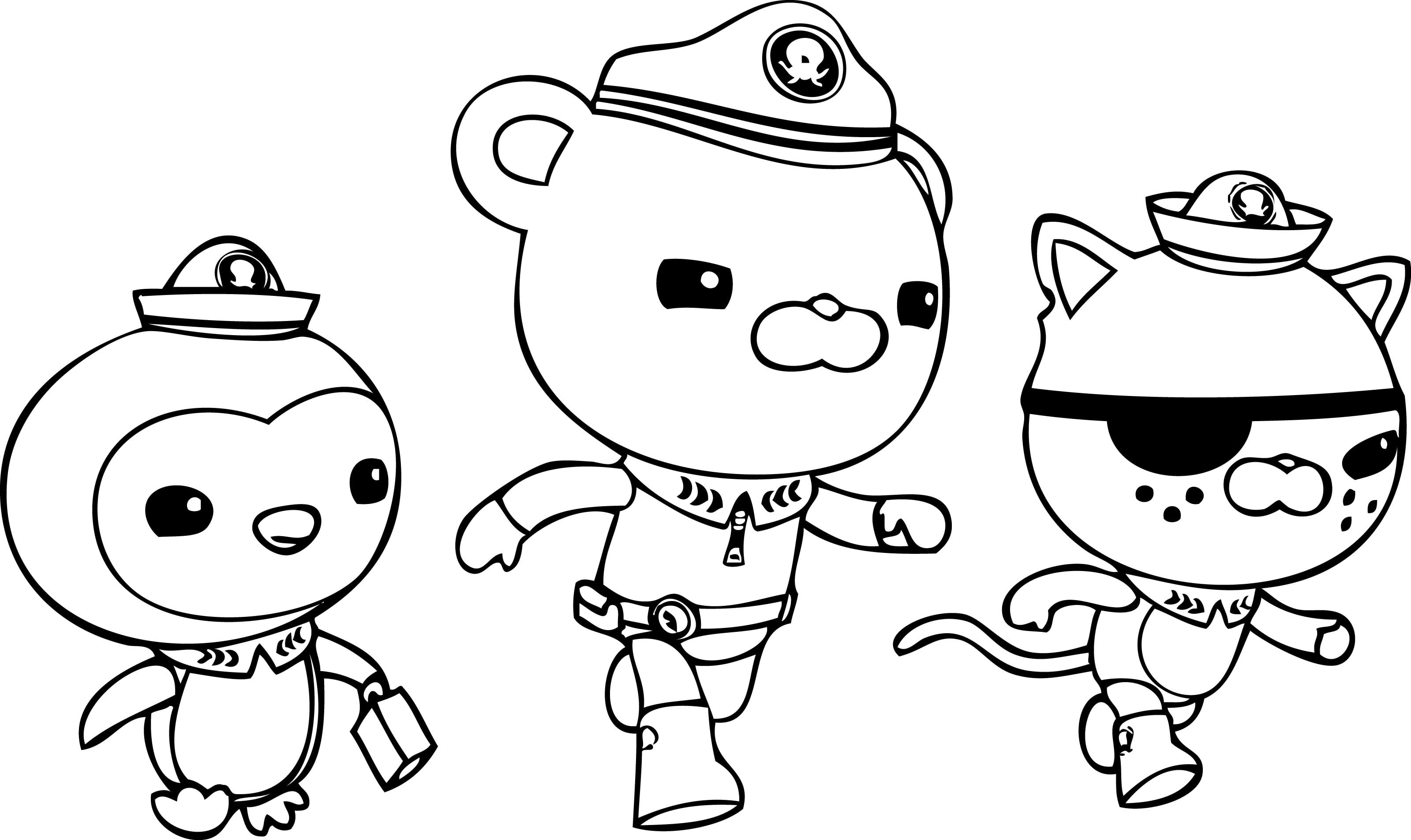 Free Octonauts Coloring Pages On