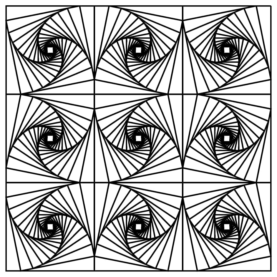 Free Printable Coloring Pages For Adults Geometric In Pretty Page