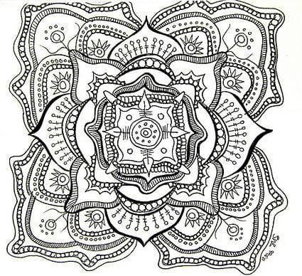 Free Printable Coloring Sheets For Adults 6  21575