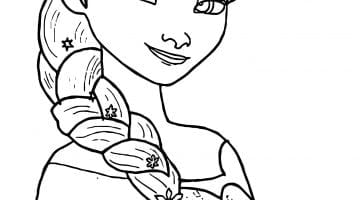Coloring Pages Of Elsa