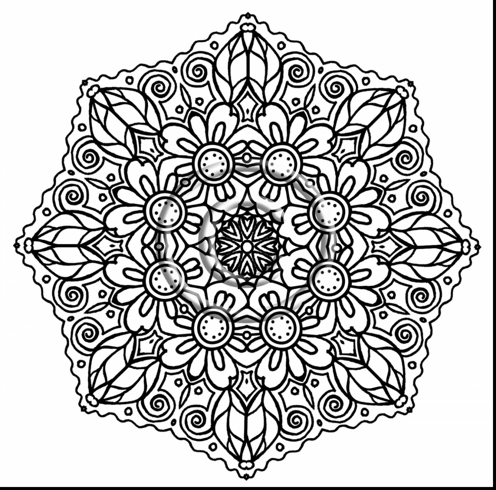 Free Printable Mandala Coloring Pages For Adults 76 With Free