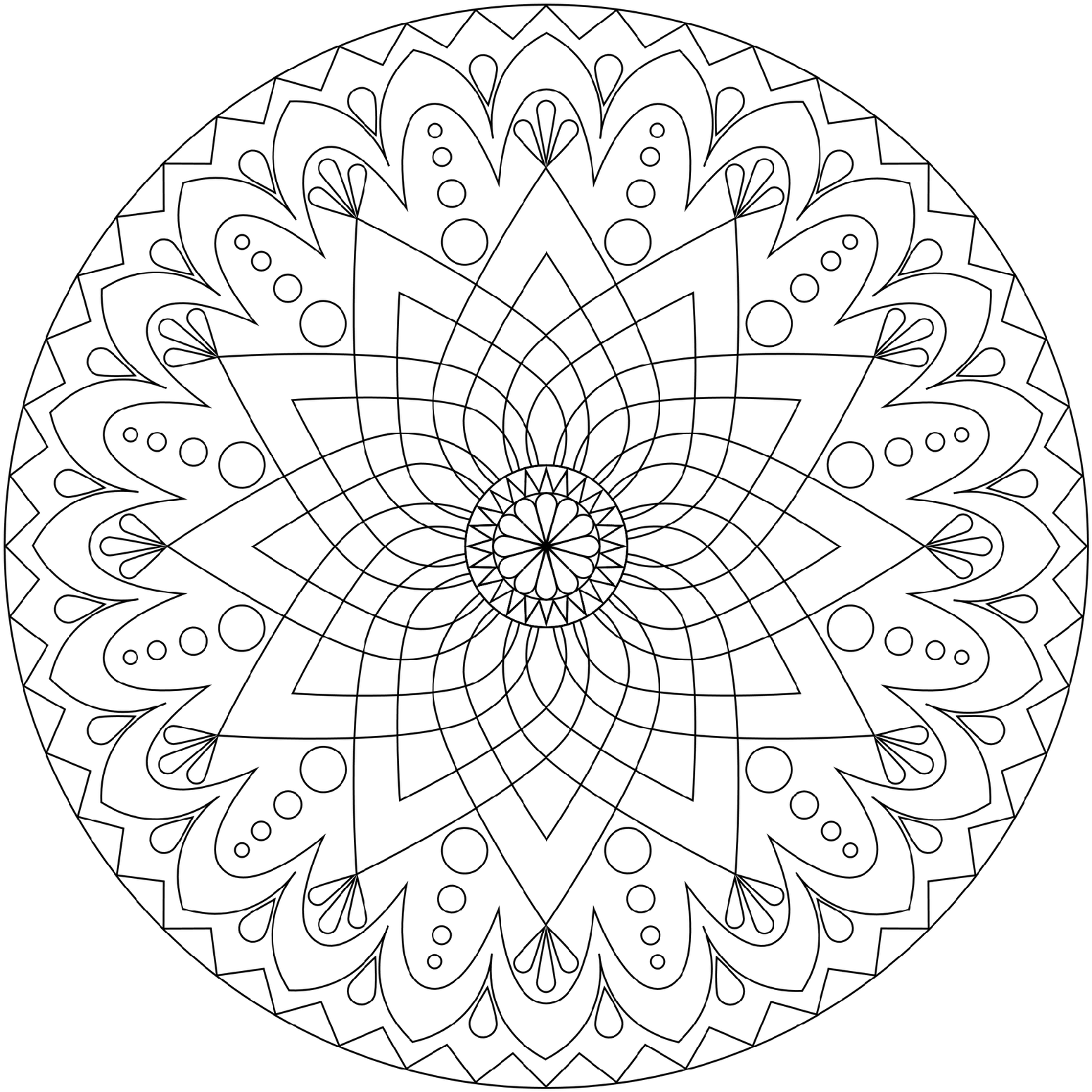 Free Printable Mandala Coloring Pages For Adults 78 With Free