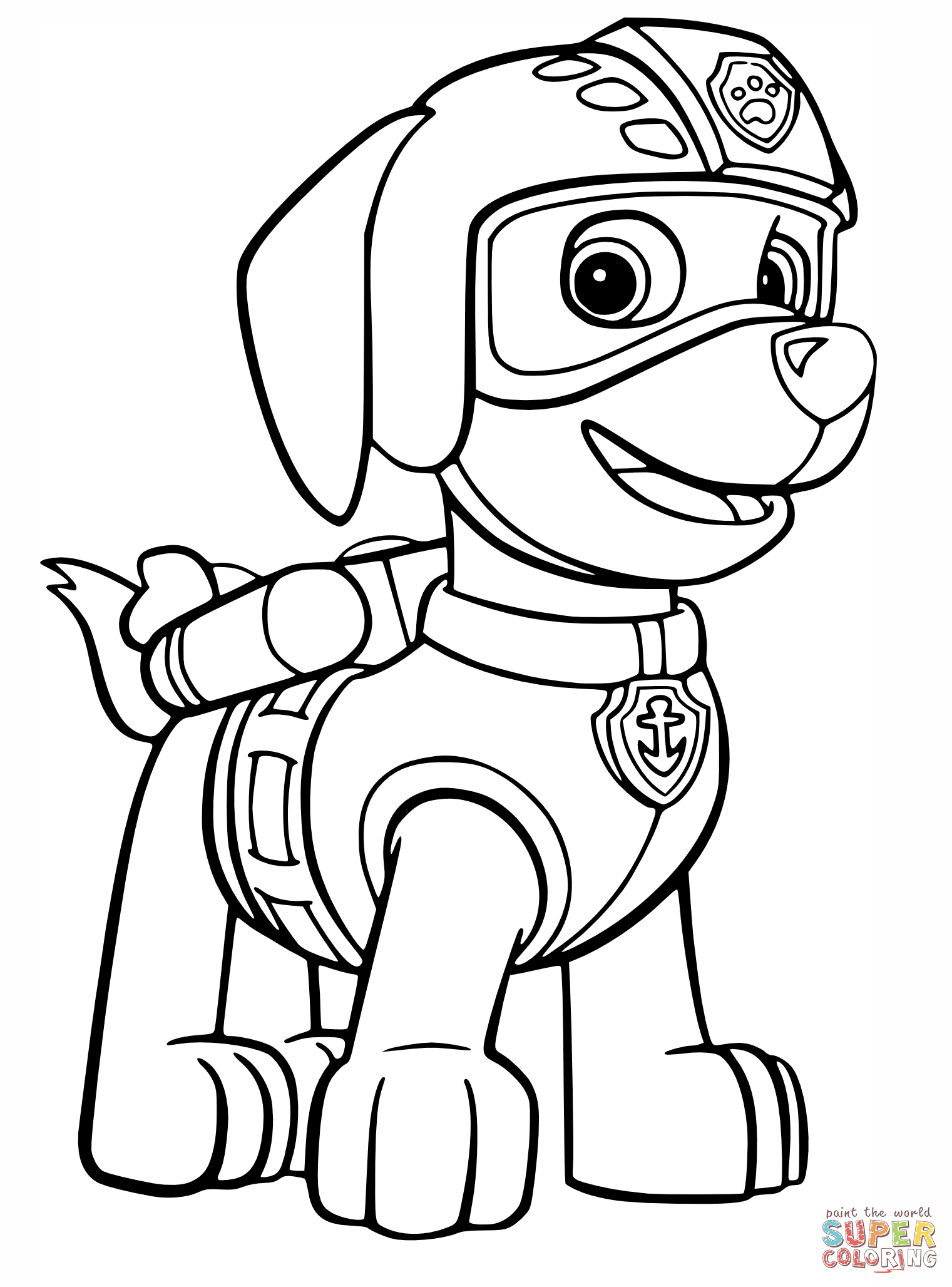 Free Printable Paw Patrol Coloring Pages New Bloodbrothers Me