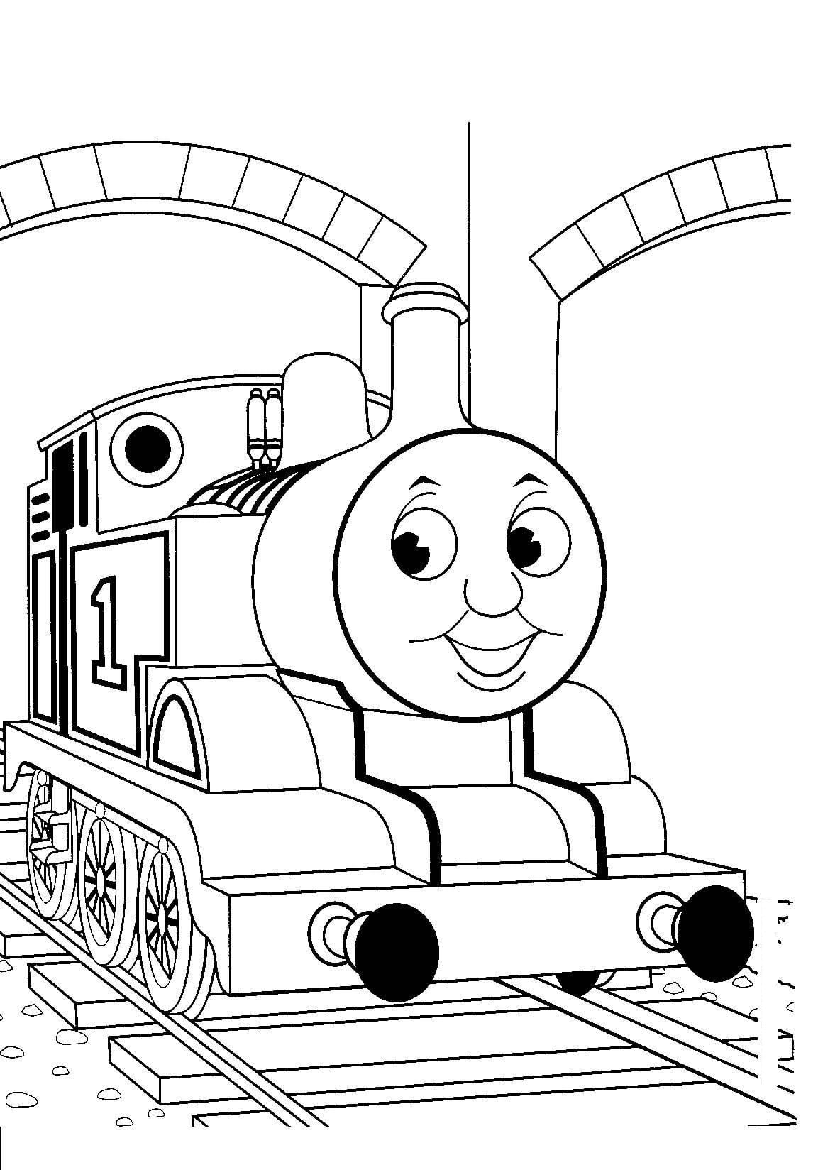 Free Printable Thomas The Train Coloring Pages To