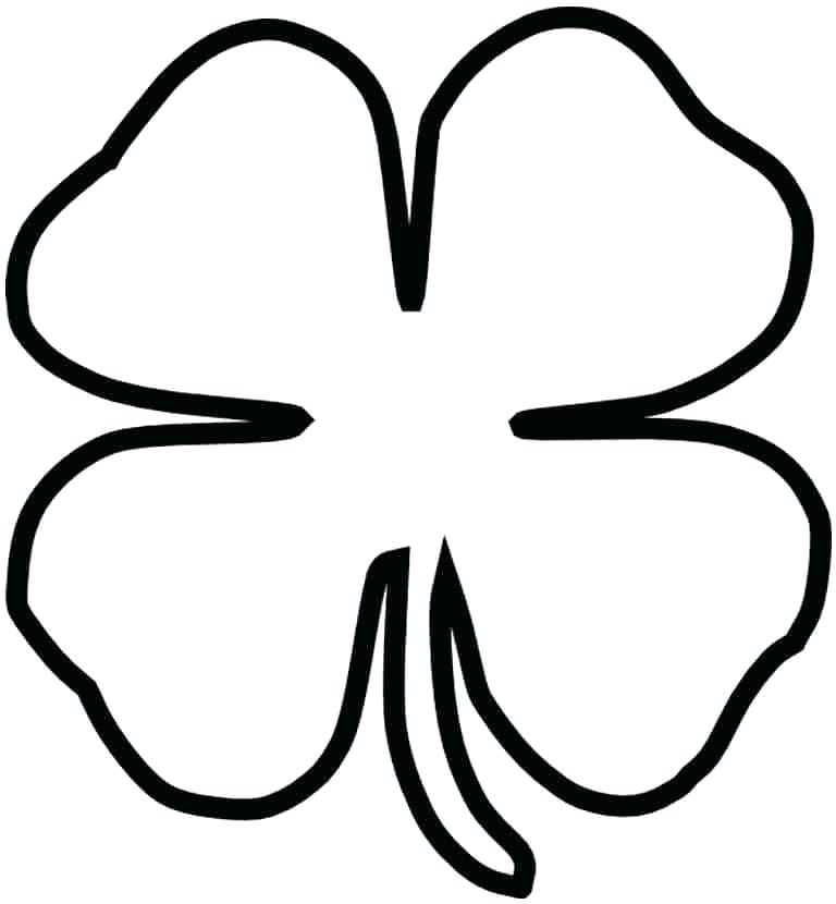 S Is For Shamrock Coloring Page Twisty Noodle Pages