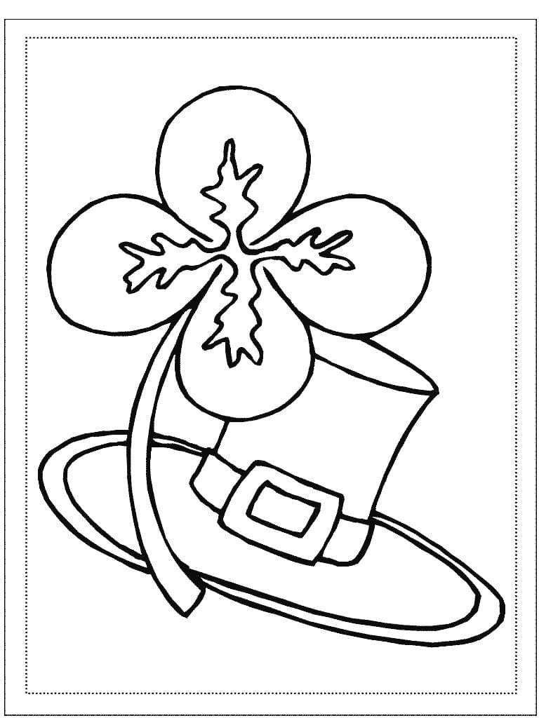 Free St Patrick S Day Coloring Pages 271 Printable Inside