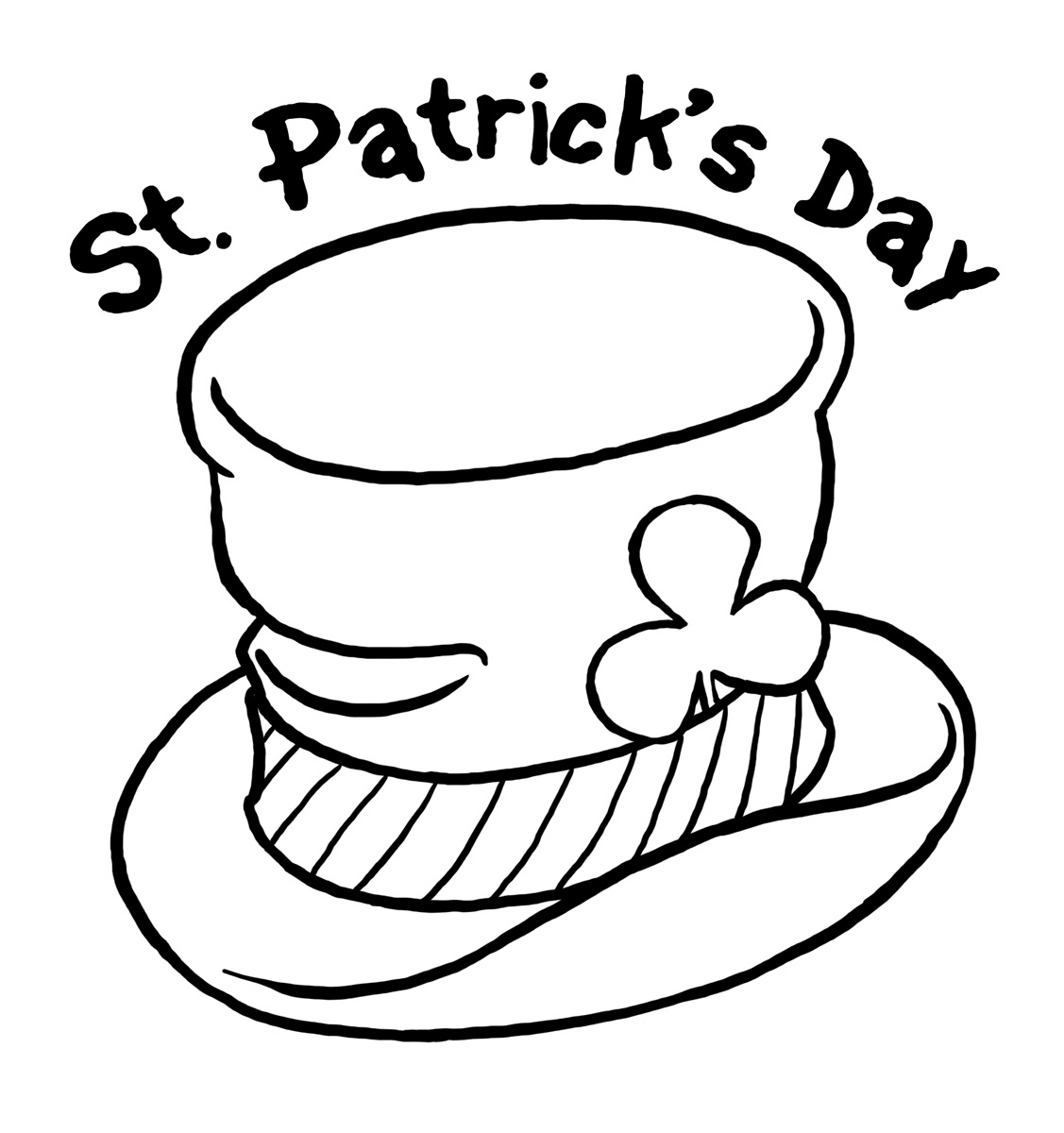 Free St Patrick S Day Coloring Pages Patricks And