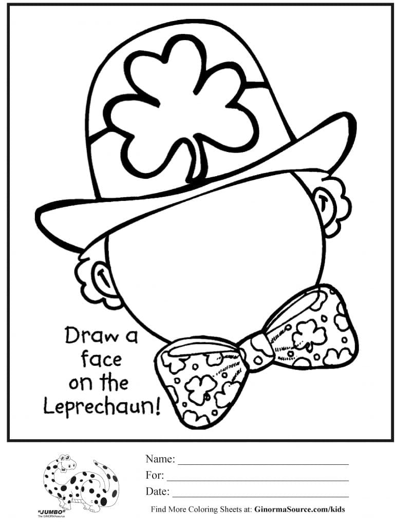 Free St Patrick S Day Coloring Pages Patricks Printables 230 In