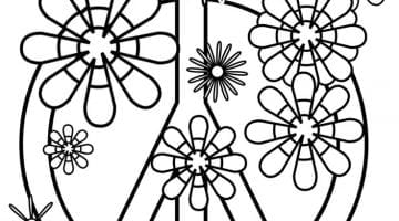 Full Page Coloring Pages