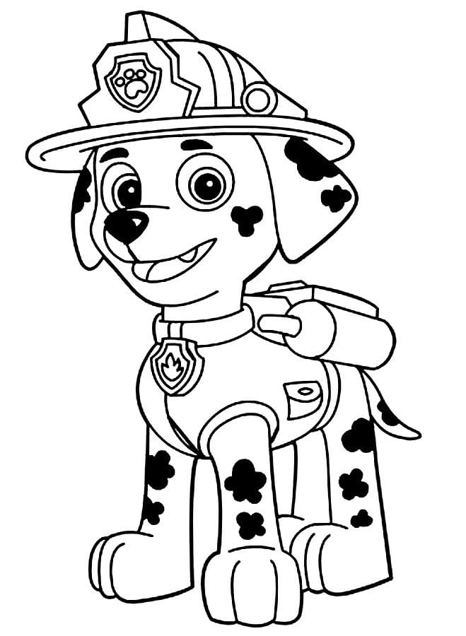 Paw Patrol Coloring Pages Pleasing Decorating Design