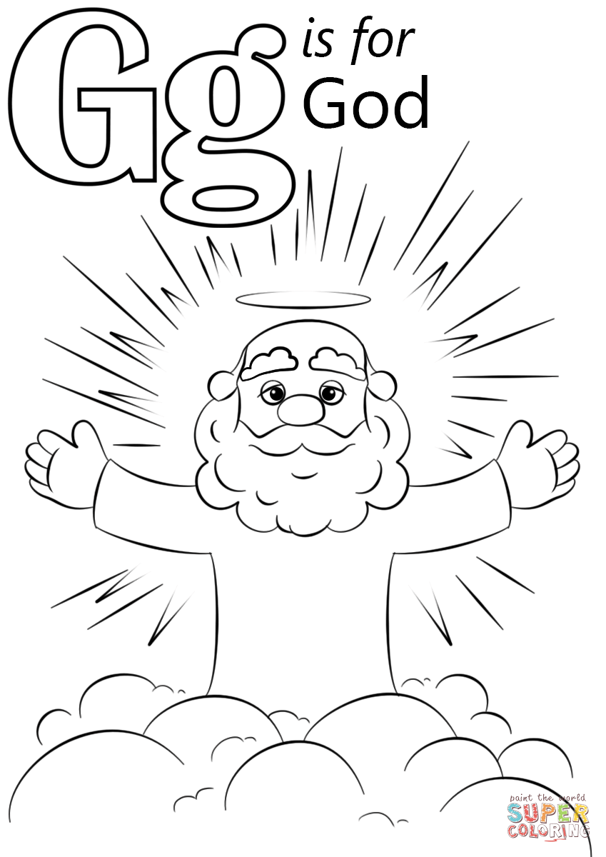 God Coloring Pages Childlife Me New