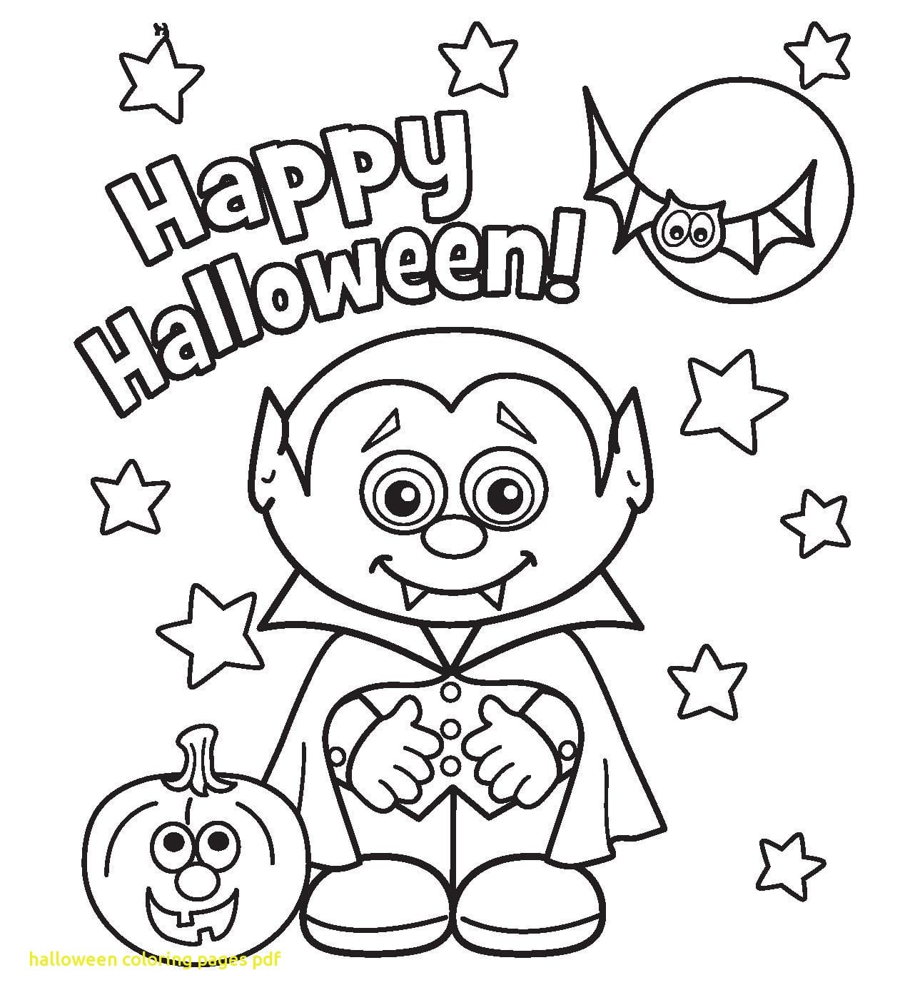 Halloween Coloring Pages Pdf With Free