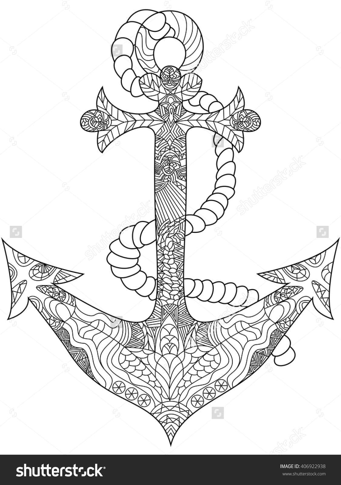 Highest Coloring Pages Of Anchors Musely For C  6201