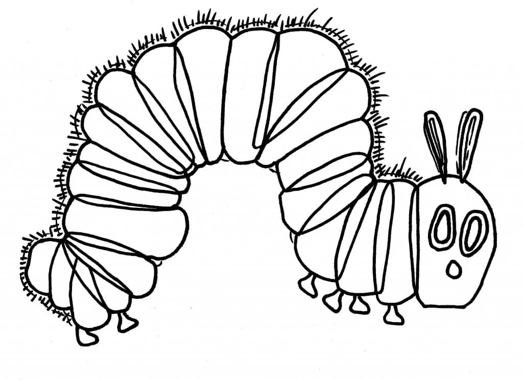 Very Hungry Caterpillar Coloring Pages Enchanting The Official