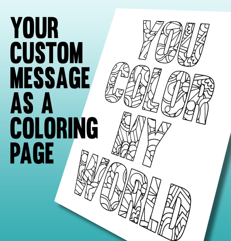 Hurry Custom Coloring Pages From Photos Elegan  18125