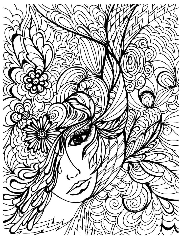 Pretentious Idea Free Coloring Pages Adult Page 25 Unique Ideas On
