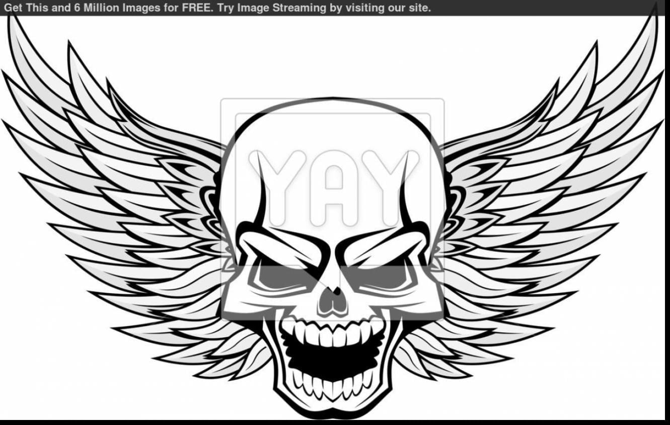 Insider Coloring Pages Skulls Flames Excellent  8545