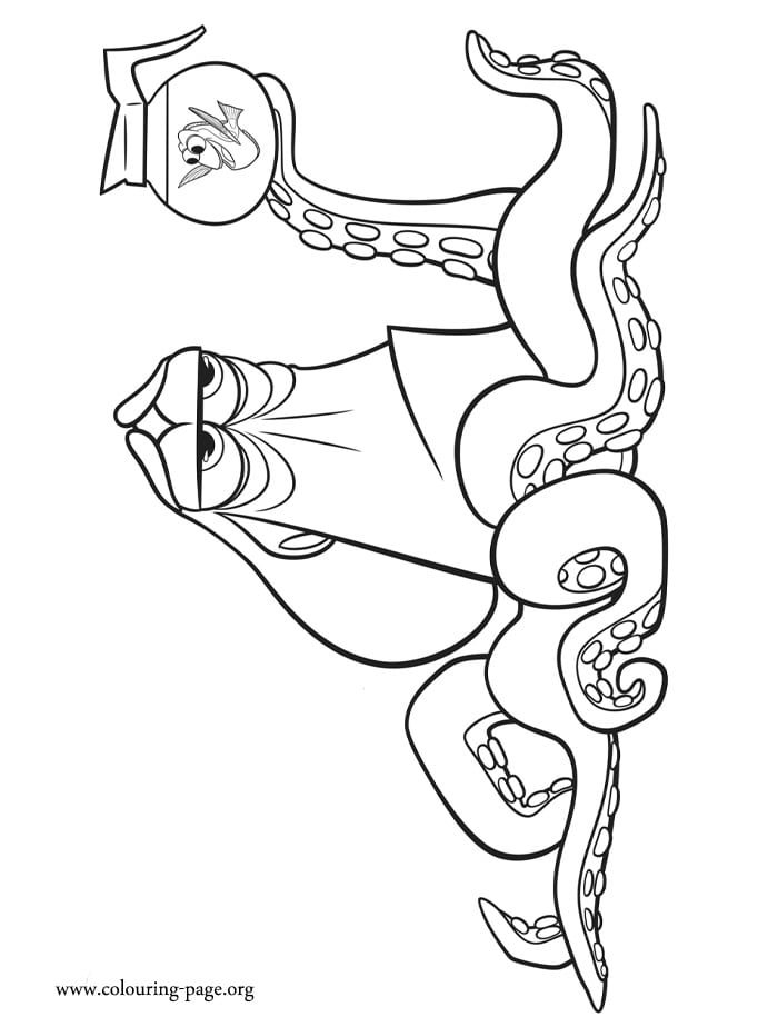 Impressive Decoration Dory Coloring Pages Finding Dory Coloring