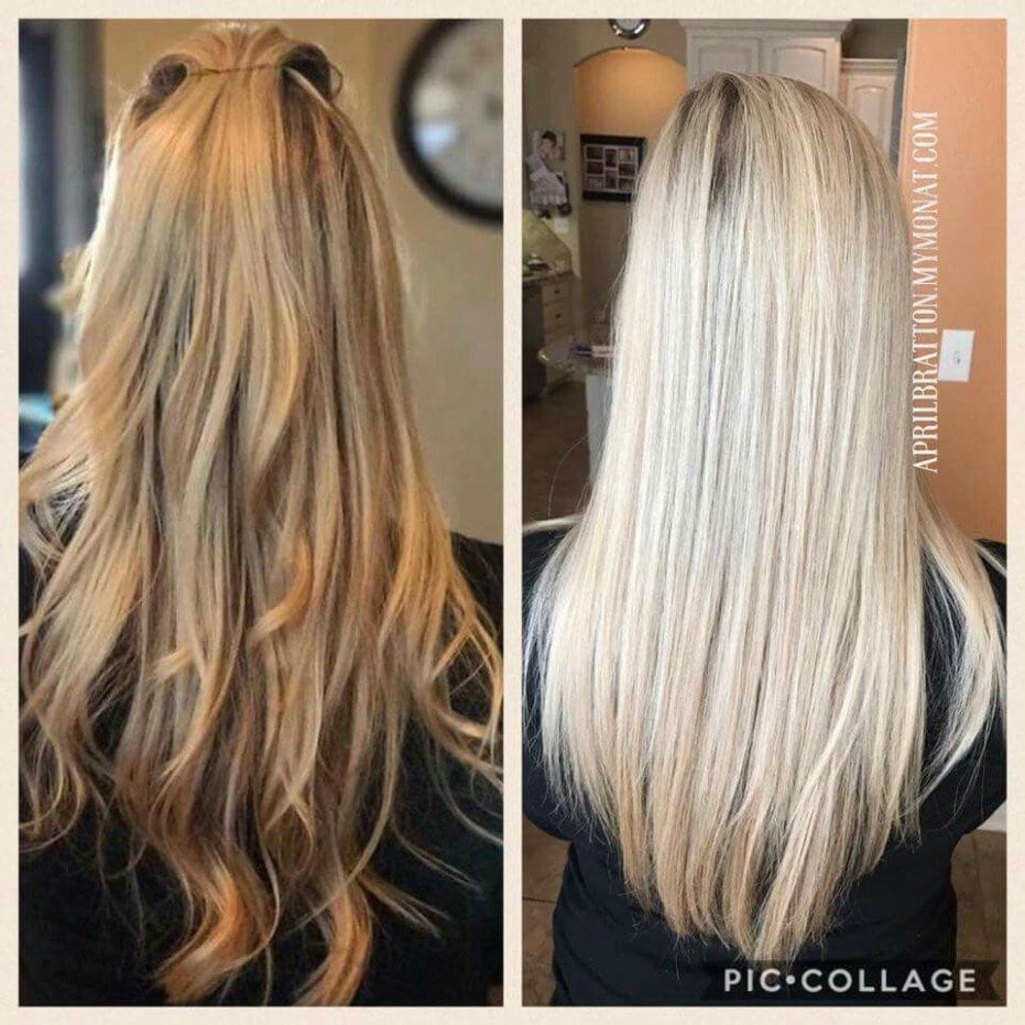 Is Your Blonde Color Turning Brassy  Monat Can Fix That! Check Out