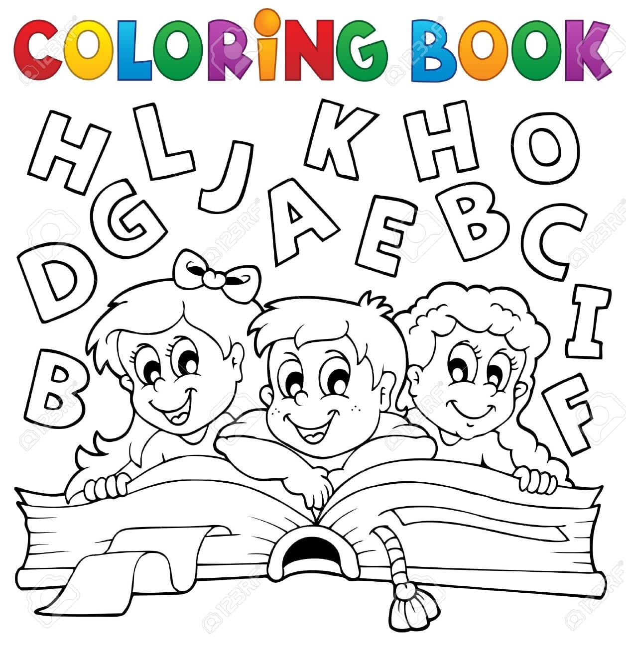 Coloring Pages  Coloring Book Kids