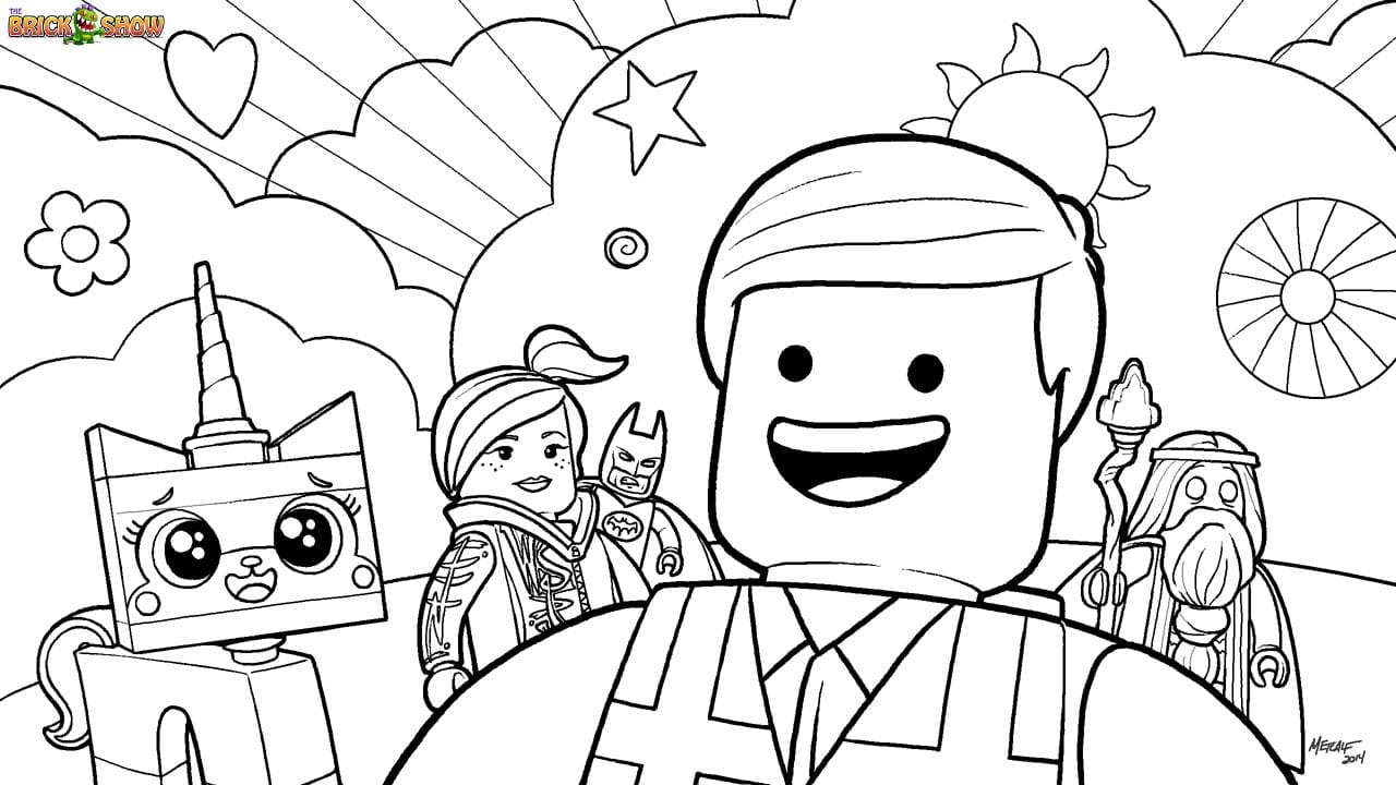 Lego Coloring Pages For Boys Free