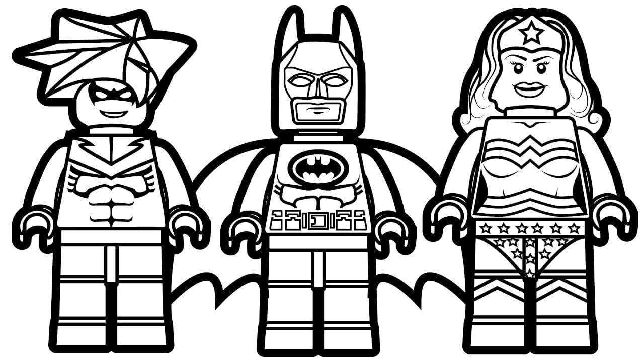 Lego Coloring Pages Printable Image Free To For Boys