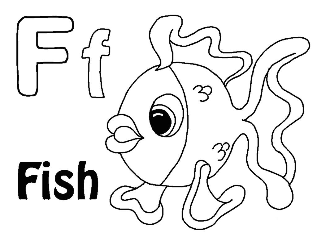 Letter F Color Sheet