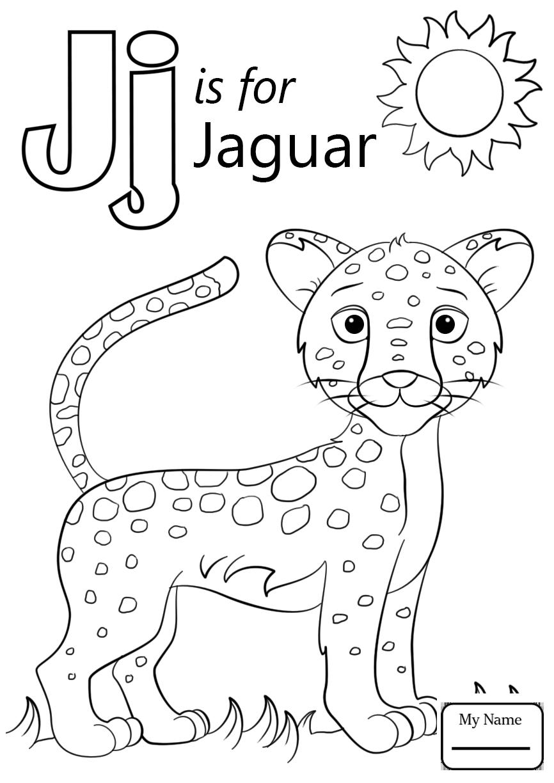 Letter J Coloring 2  22795