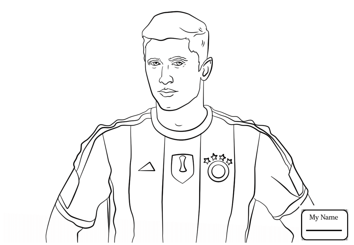 Messi Coloring Pages Ivector Co Inside