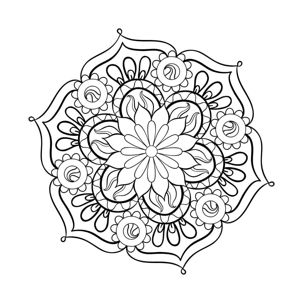Best Lotus Adult Coloring Pages Free 29 Printable Coloringace Com