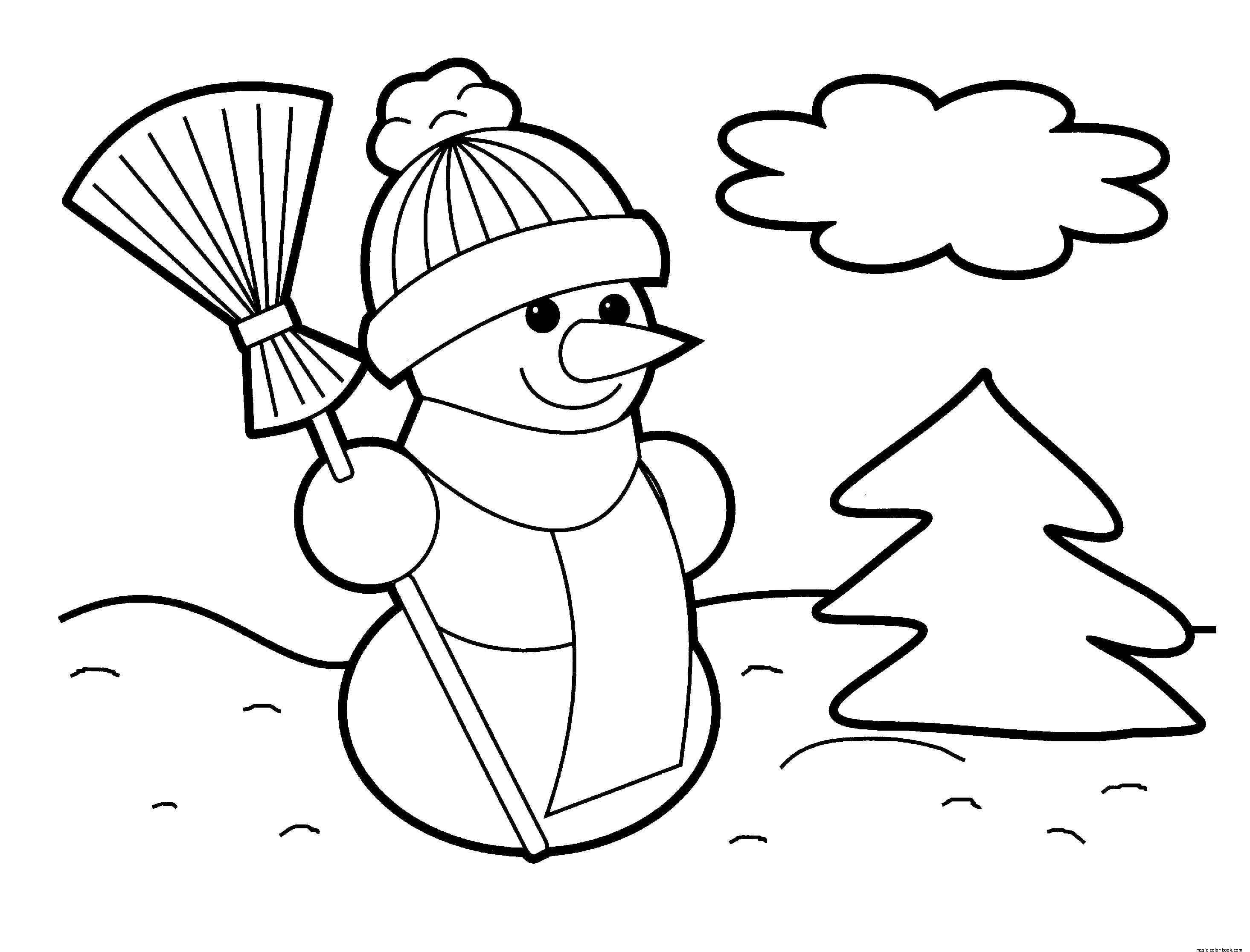 Strange Snowman Coloring Pages Printable With Happy Page  183